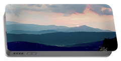 Blue Ridge Mountain Sunset Portable Battery Charger