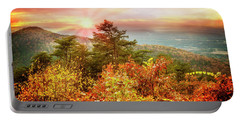 Blue Ridge Mountains In Autumn Portable Battery Charger