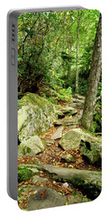 Portable Battery Charger featuring the photograph Blue Ridge Parkway Hiking Trail by Meta Gatschenberger
