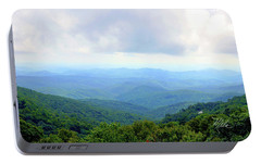 Portable Battery Charger featuring the photograph Blue Ridge Parkway Overlook by Meta Gatschenberger