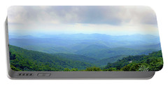 Blue Ridge Parkway Overlook Portable Battery Charger by Meta Gatschenberger