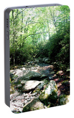 Portable Battery Charger featuring the photograph Blue Ridge Parkway Stream by Meta Gatschenberger