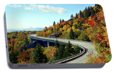 Portable Battery Charger featuring the photograph Blue Ridge Parkway Viaduct by Meta Gatschenberger