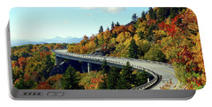 Blue Ridge Parkway Viaduct Portable Battery Charger by Meta Gatschenberger