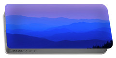 Portable Battery Charger featuring the photograph Blue Ridge Spring 08 by Kevin Blackburn