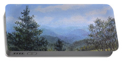 Blue Ridge Stream Portable Battery Charger by Kathleen McDermott