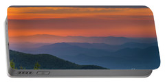 Blue Ridge Sunrise At Wintergreen  Portable Battery Charger