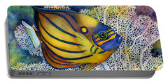 Blue Ring Angelfish Portable Battery Charger