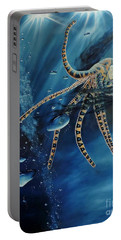 Blue Ring Octopus Portable Battery Charger
