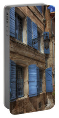 Blue Shutters Portable Battery Charger