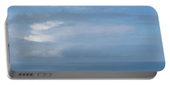 Portable Battery Charger featuring the photograph Blue Skies by JoAnn Lense