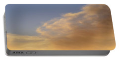 Portable Battery Charger featuring the photograph Blue Sky And Clouds Two  by Lyle Crump