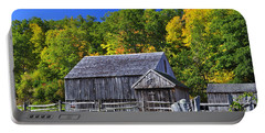 Blue Sky Autumn Barn Portable Battery Charger
