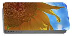 Blue Sky Sunflower Portable Battery Charger