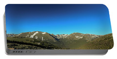 Blue Skys Over The Rockies Portable Battery Charger