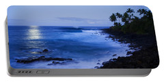 Blue Sunrise At Waimea Portable Battery Charger