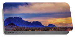 Blue Sunset Nm-az Portable Battery Charger by Diana Mary Sharpton