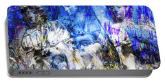 Blue Symphony Of Angels Portable Battery Charger