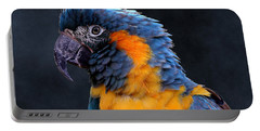 Blue-throated Macaw Profile Portable Battery Charger