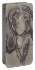 Bluetick Coonhound Portable Battery Charger