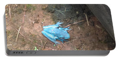Blue Tree Frog Portable Battery Charger