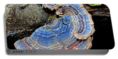 Blue Turkeytail Fungi Portable Battery Charger