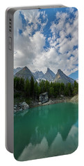 Blue Waters Of The French Alps Portable Battery Charger