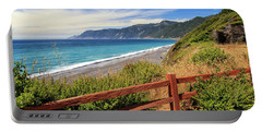 Portable Battery Charger featuring the photograph Blue Waters Of The Lost Coast by James Eddy