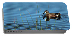 Blue Winged Teal Portable Battery Charger