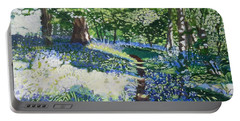 Bluebell Forest Portable Battery Charger