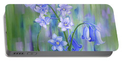Bluebell Haze Portable Battery Charger