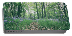 Bluebell Woods Portable Battery Charger