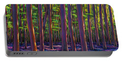 Bluebells And Forest Portable Battery Charger