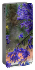 Bluebells In My Garden Window Portable Battery Charger