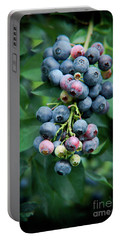 Blueberry Cluster Portable Battery Charger