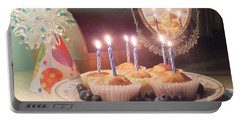 Blueberry Muffin Birthday Portable Battery Charger