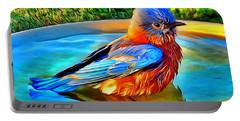 Bluebird Bath Portable Battery Charger