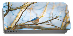 Bluebird In Tree Portable Battery Charger