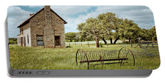 Portable Battery Charger featuring the photograph Bluebonnet Dreams by Linda Unger
