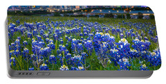 Bluebonnets In Dallas Portable Battery Charger