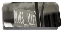 Blues Alley Street Sign Portable Battery Charger