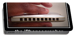 Blues Harmonica Portable Battery Charger by Teo SITCHET-KANDA