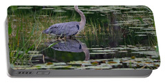 Blue's Image- Great Blue Heron Portable Battery Charger
