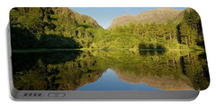 Blues Skies In Glencoe Portable Battery Charger