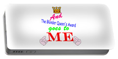 Blunder Queen Portable Battery Charger