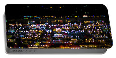 Portable Battery Charger featuring the photograph Blurred City Lights  by Jingjits Photography