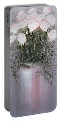 Blush - Original Artwork Portable Battery Charger