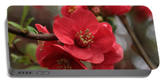 Blushing Blooms Portable Battery Charger