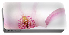 Blushing Magnolia Portable Battery Charger