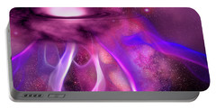 Blushing Nebula Portable Battery Charger